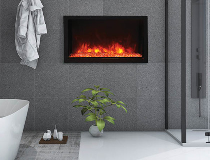 Panorama electric fireplaces