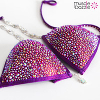 Violet Crystal Competition Bikini