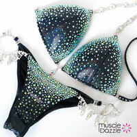 Black Crystal Competition Bikini (CB169)