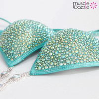 Mint Crystal Competition Bikini (CB176)