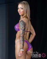 Magenta Crystal Competition Bikini