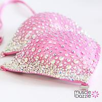 Pink Crystal Competition Bikini