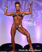 Dark Green Figure Competition Suit