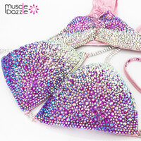 Pink Crystal Competition Bikini (CB216)
