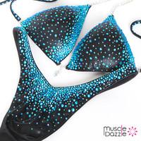 Black Figure Competition Suit (FS242)