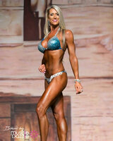 Teal Ombre Competition Bikini