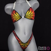 Sunset Figure Competition Suit