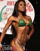 Green Crystal Competition Bikini