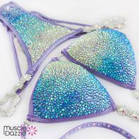 Lavender Competition Bikini