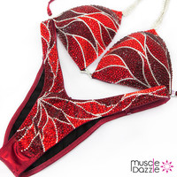 Ruby Red Figure Suit