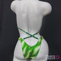 Green Figure Suit