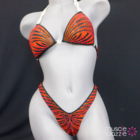 Burnt Orange Figure Suit