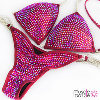 Ruby Red Competition bikini