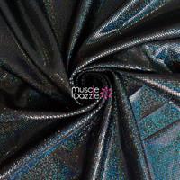 Black Competition Bikini Spandex Fabric