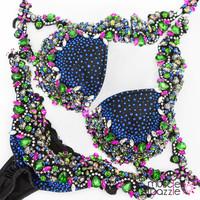 bikini diva crystal competition suit