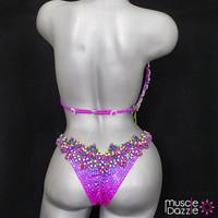 Purple Bikini Diva Competition Bikini