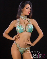 Mint Green Diva Competition Bikini (DV010)