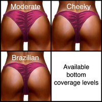 Bottom Coverage Levels for Diva Competition Bikinis