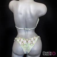 Light Green Diva Competition Bikini