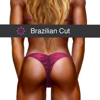 Bikini back coverage - Brazilian
