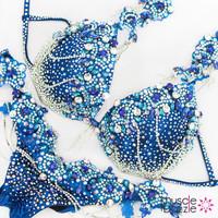 Blue diva fitness bikini