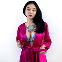 Pink Bikini Competitor Robe