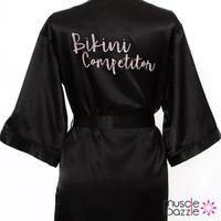 Bikini Competitor satin backstage robe