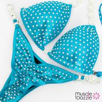 Affordable aqua competition bikini