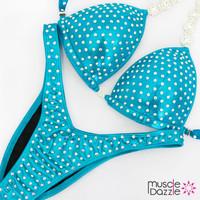 Affordable aqua figure competition suit