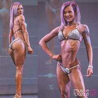 Silver Swarovski Competition Bikini