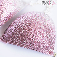 Pink Ombre Swarovski Competition Bikini