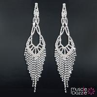 Delicate Tassel Earrings | Bikini Competition Jewelry