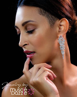 Pretty Earring Design | Physique Competition Jewelry
