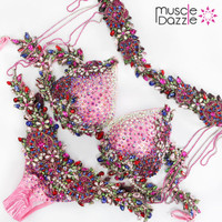 Pink WBFF Bikini Diva Suit