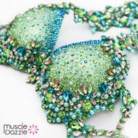 Mint Green WBFF Diva Bikini