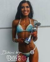 Light Blue Competition Bikini
