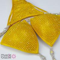 Yellow Competition Bikini