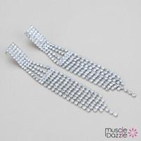 Stunning Bikini Competition Earrings | Stage Jewelry