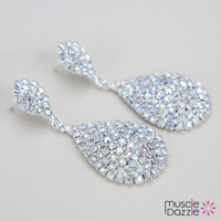 Teardrop Bikini Competition Earrings