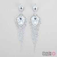 Figure Competition Jewelry | Rhinestone Earrings