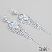 Figure Competition Jewelry | Rhinestone Earrings