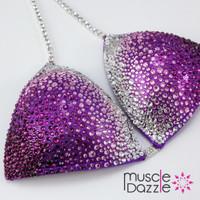 Purple Ombre Competition Bikini