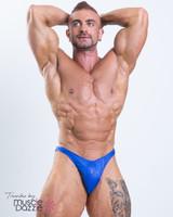 Royal Blue Bodybuilding Posing Trunks