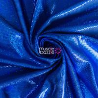 Hologram Royal Blue Spandex