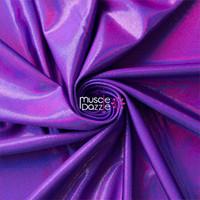 Purple Reflective Spandex