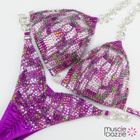 Pink and Purple Competition Bikini