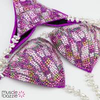 Pink and Purple Competition Bikini