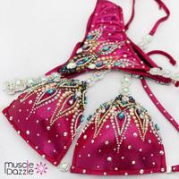 Magenta Competition Bikini