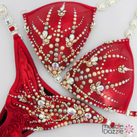 Ready Made Red Competition Bikini (CB616RM)