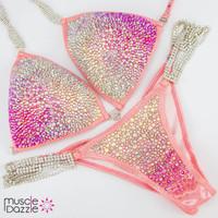 Peachy Pink Competition Bikini